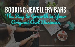 Booking Jewellery Bars: The Key to Growth in Your Origami Owl Business
