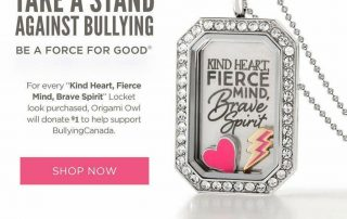 Origami Owl Bully Prevention Locket