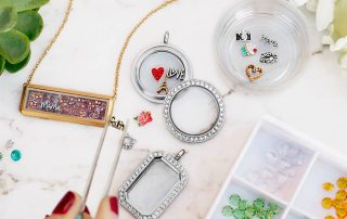 what is Origami Owl Jewellery Made of