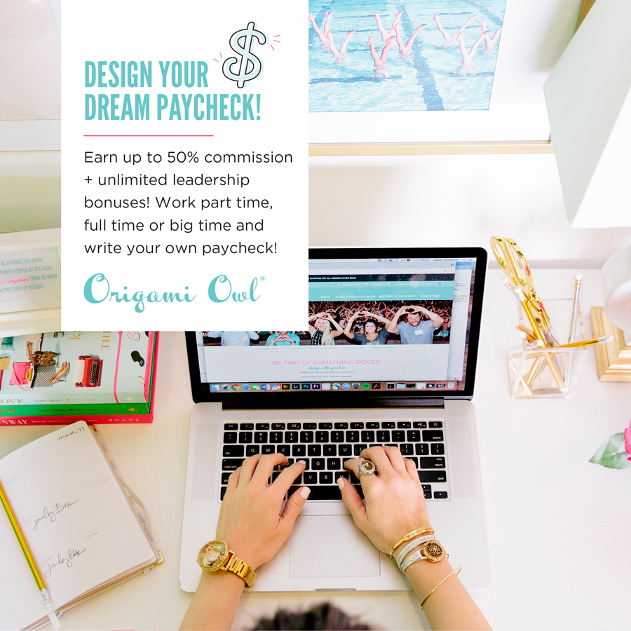 Join Origami Owl Compensation plan