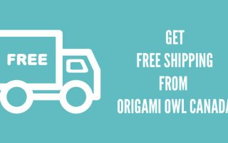 FREE SHIPPING ORIGAMI OWL CANADA