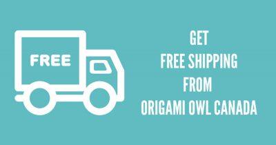 FREE SHIPPING ORIGAMI OWL CANADA