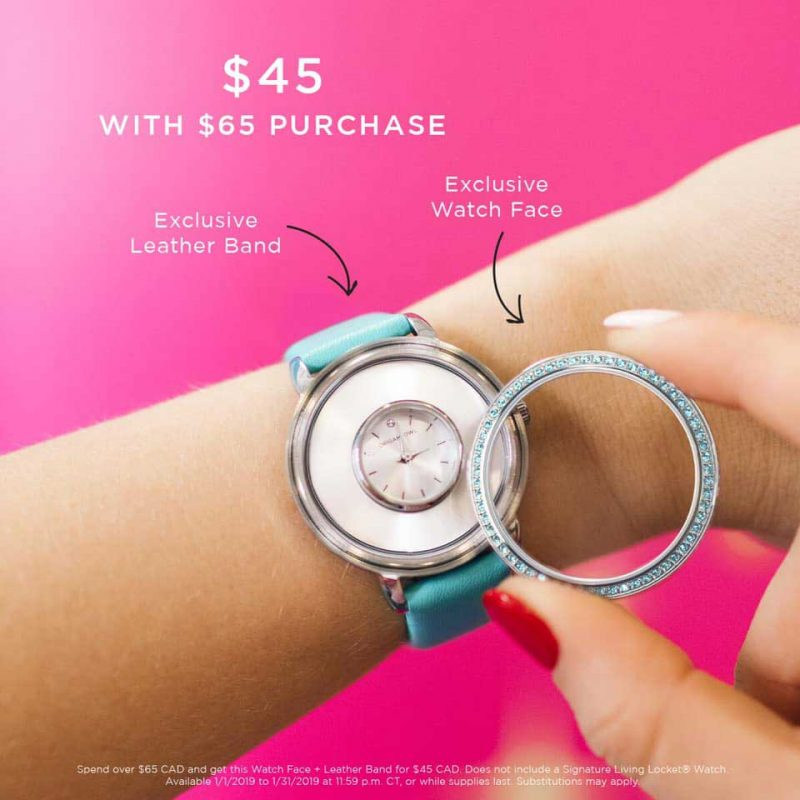 Exclusive Blue Origami Owl Locket Watch Origami Owl Canada