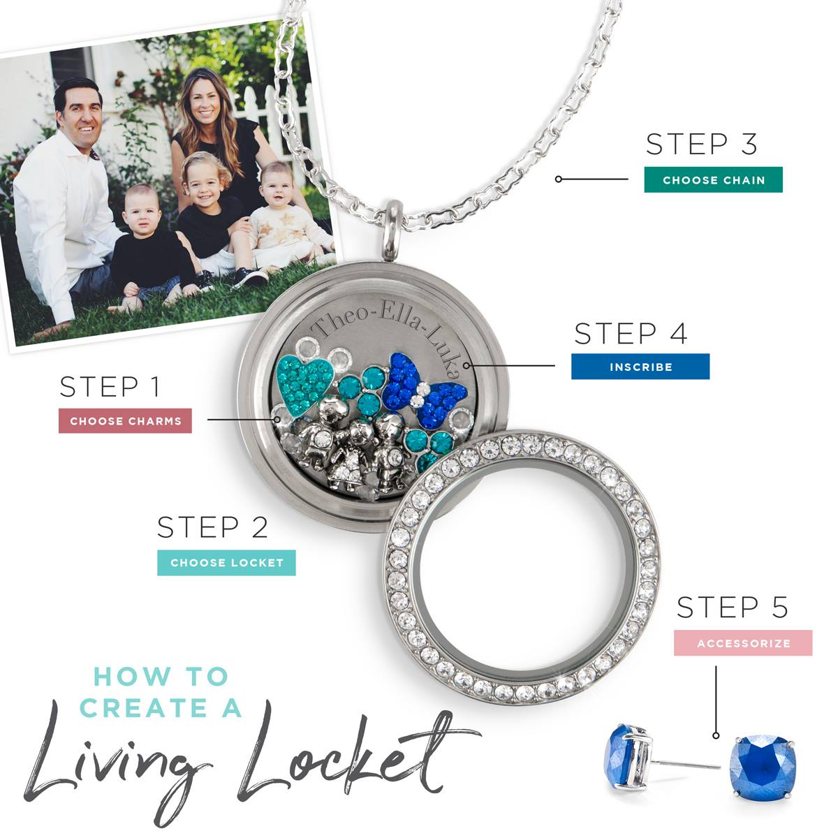 Origami Owl Canada Family Locket