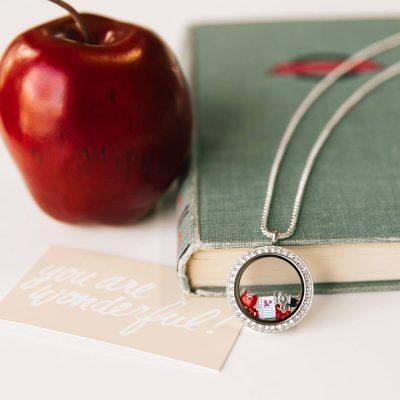 Teacher Appreciation Month Gift origami Owl teacher locket