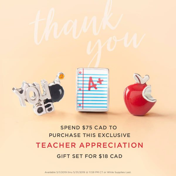 Teacher Appreciation Month Gift Origami owl